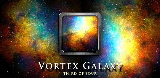 Vortex Galaxy Live Wallpaper FREE