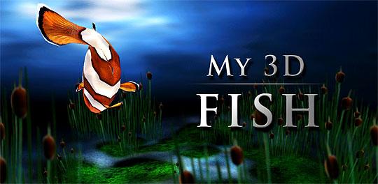 My 3d Fish Live Wallpaper